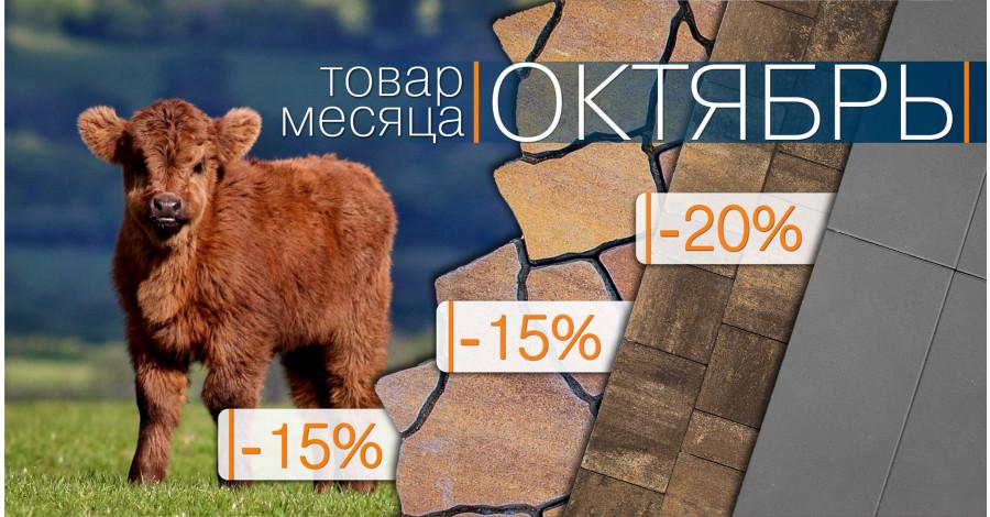 """Акция """"Товар месяца Октябрь!"""" 2021"""