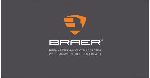 Виды крепёжных систем для стен из керамического блока BRAER